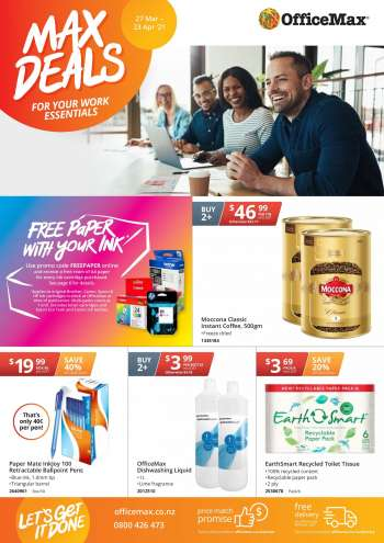 OfficeMax mailer - 27.03.2021 - 23.04.2021.