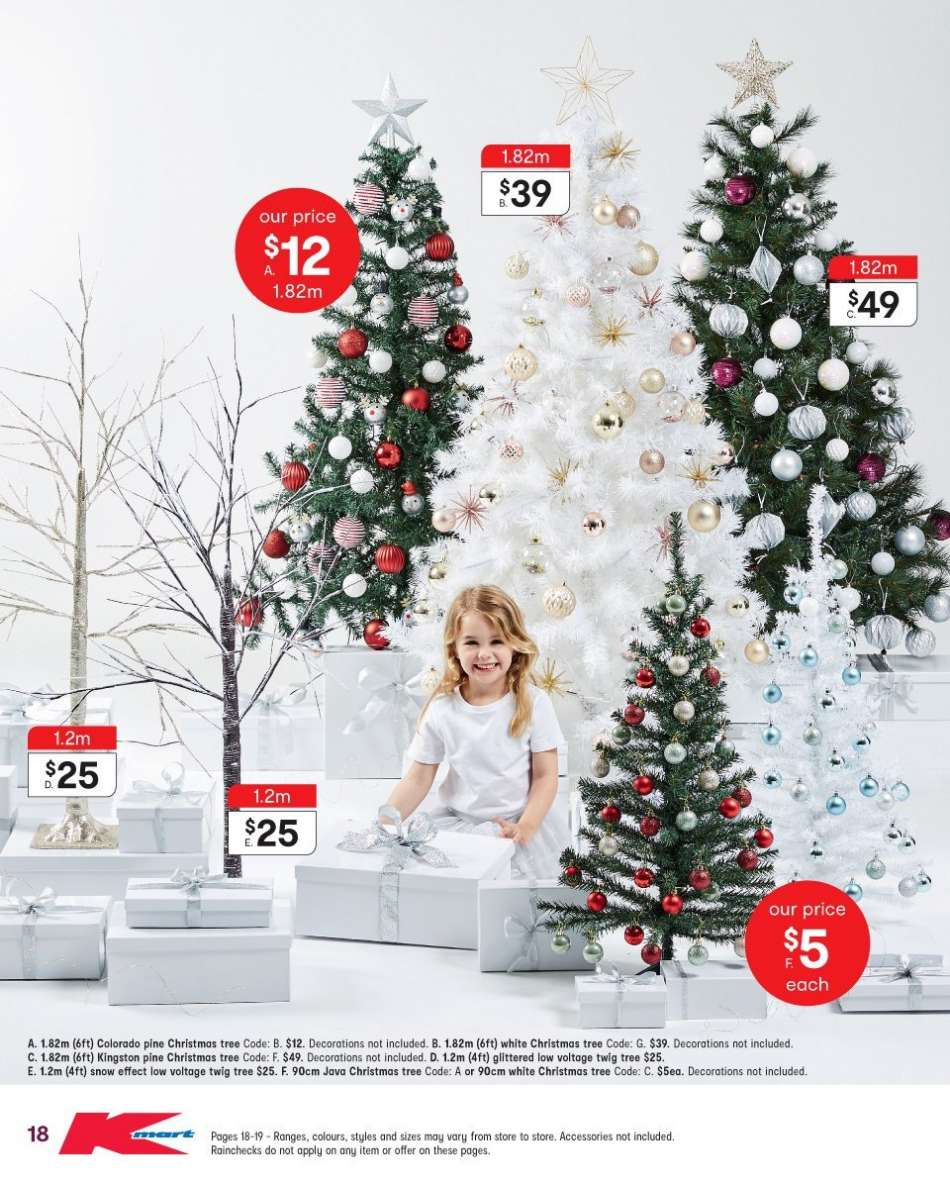 Kmart mailer - 29.11.2018 - 12.12.2018 - Sales products - tree,