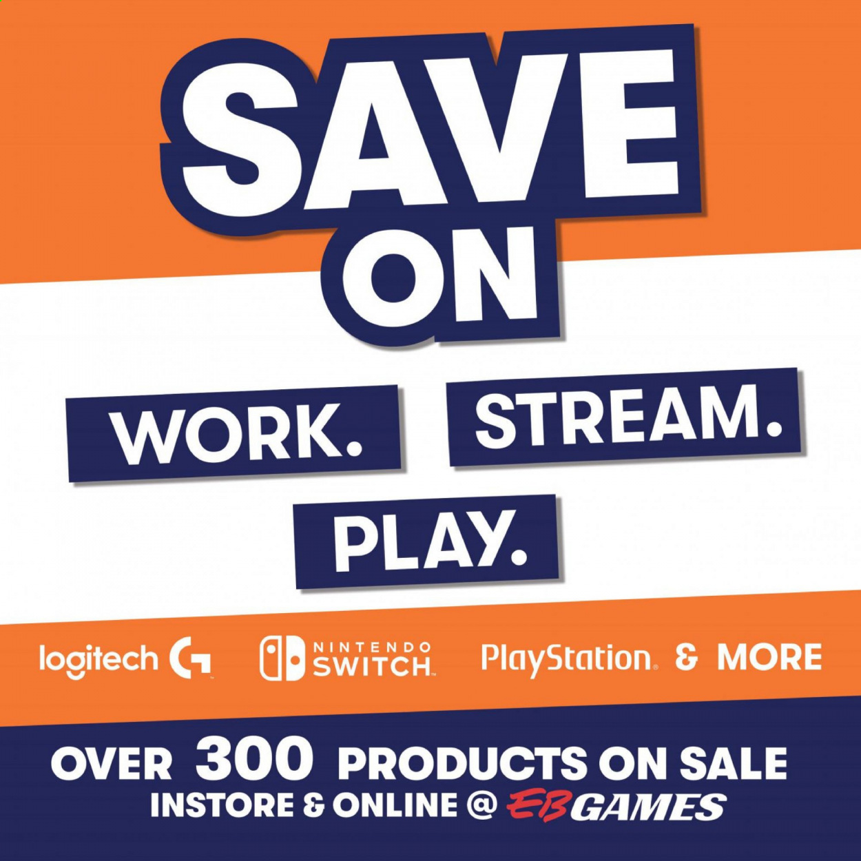 EB Games mailer - Sales products - PlayStation. Page 1.