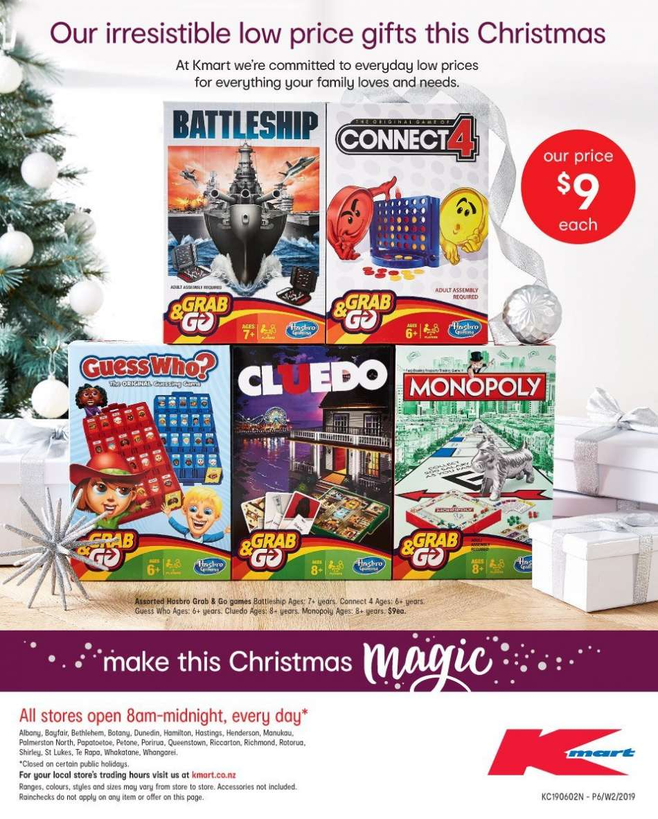 Is Kmart Open On Christmas Day.Kmart Mailer 06 12 2018 19 12 2018 My Catalogue Nz