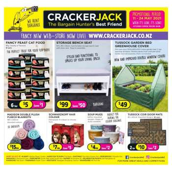 Crackerjack catalogue
