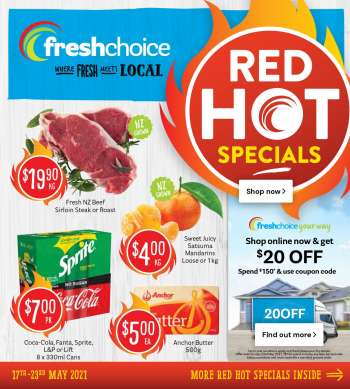 Fresh Choice mailer - 17.05.2021 - 23.05.2021.