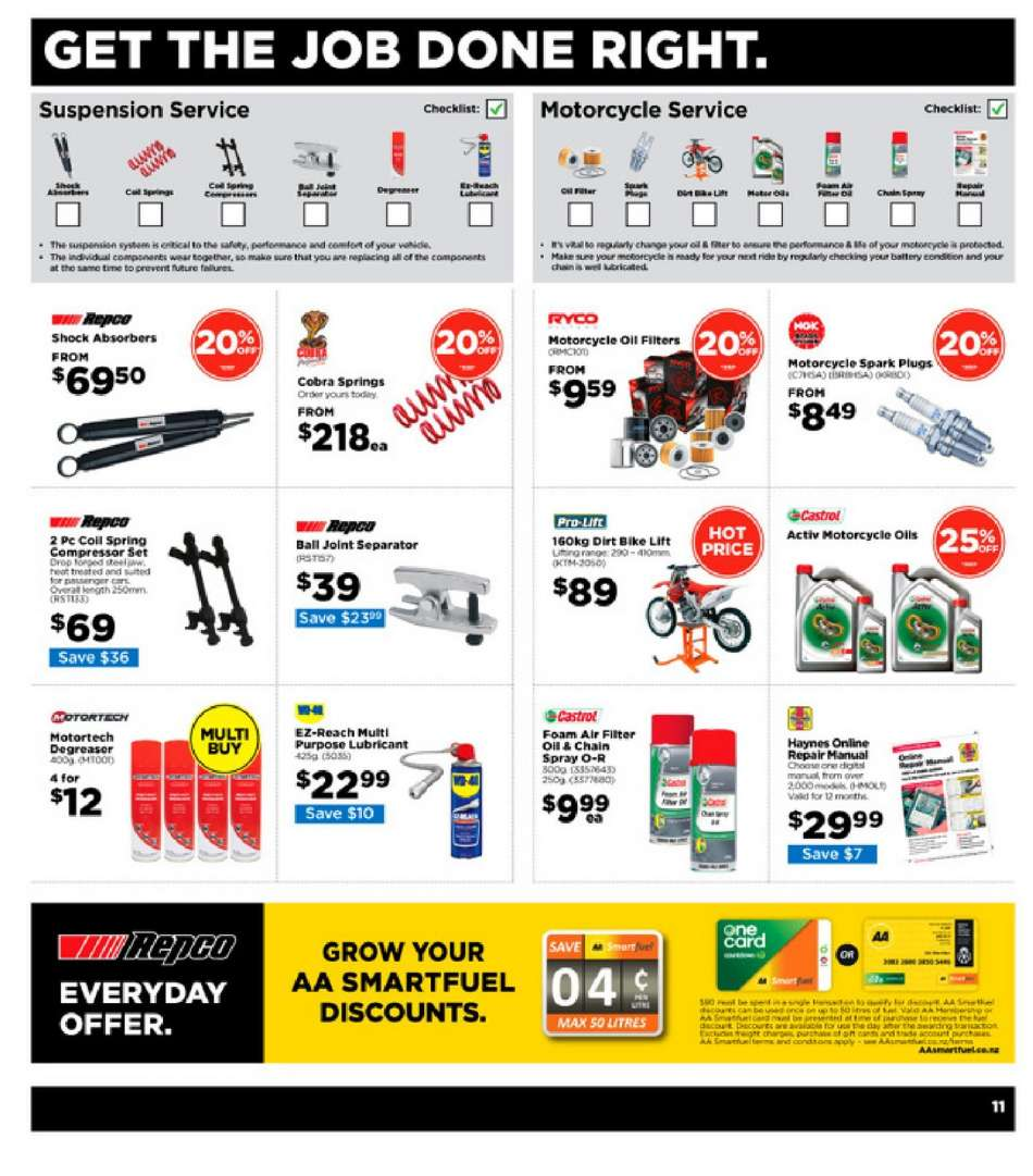 Current Repco mailer 14 03 2019 - 24 03 2019 | My-catalogue nz