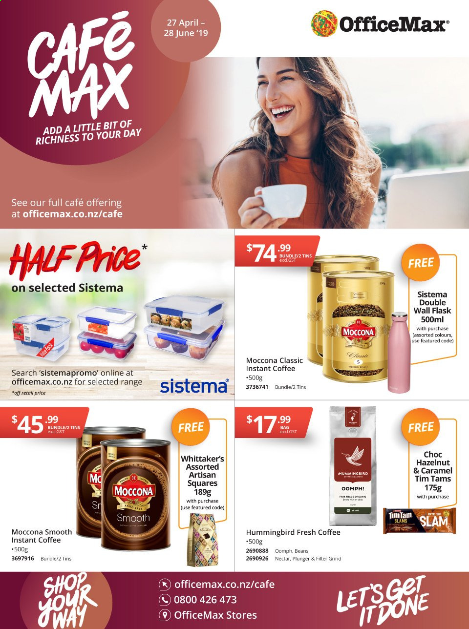 OfficeMax mailer  - 27.04.2019 - 28.06.2019. Page 1.