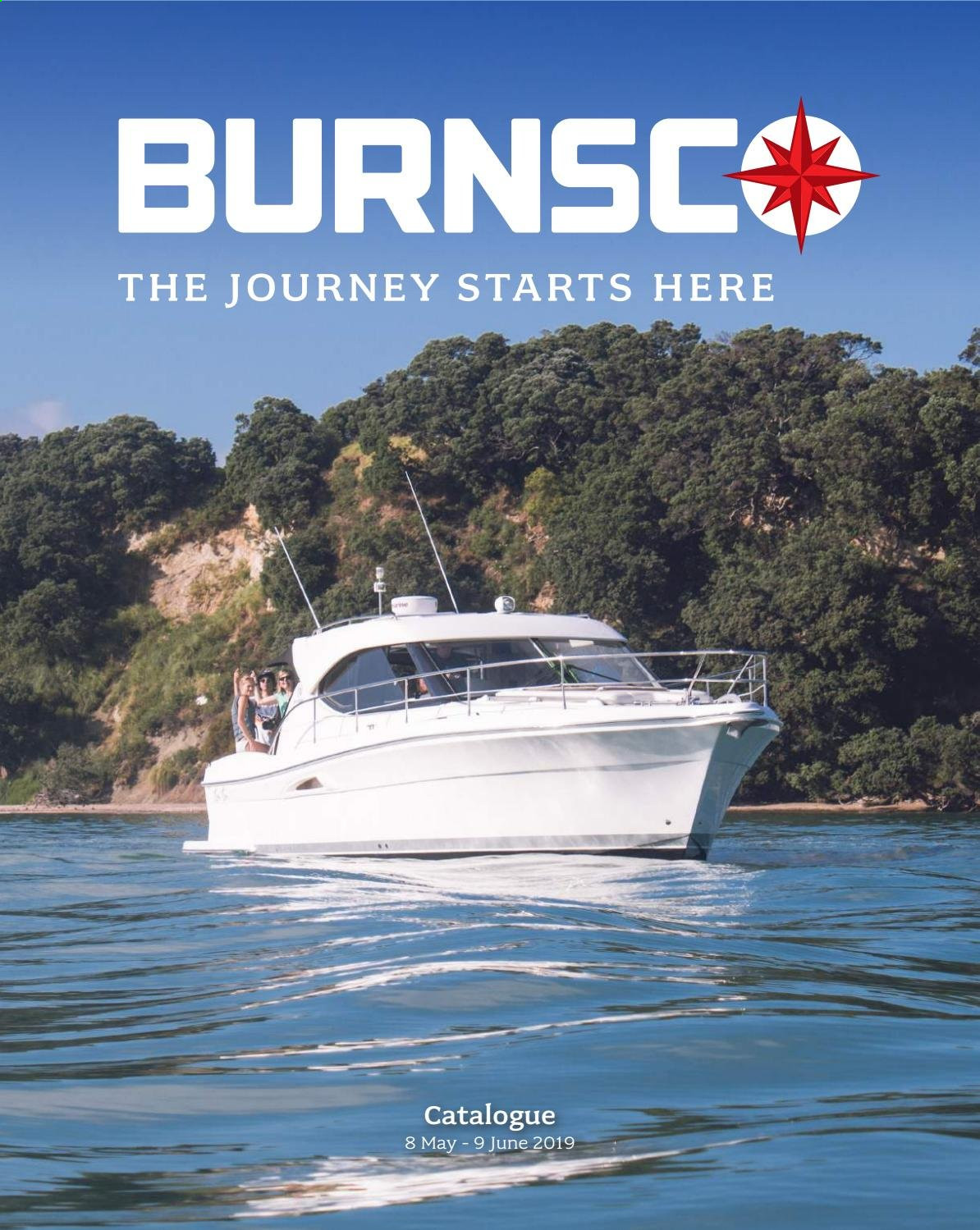 Burnsco mailer  - 08.05.2019 - 09.06.2019. Page 1.