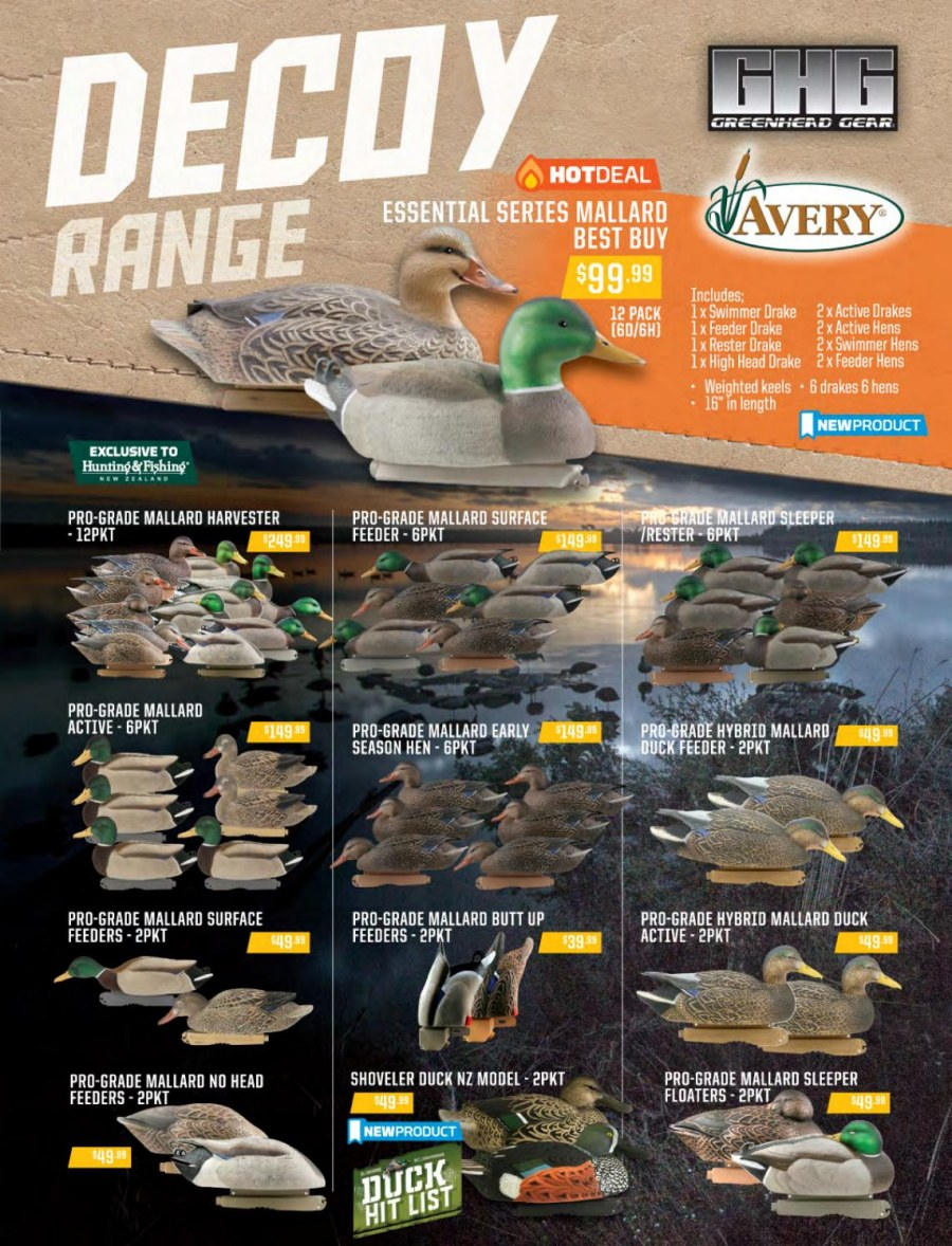 Hunting & Fishing mailer - 01.03.2018 - 31.08.2018 - Sales products - feeder. Page 41.