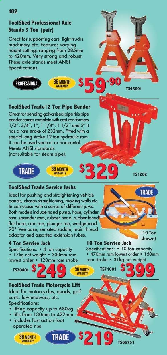 The Tool Shed mailer | My-catalogue nz