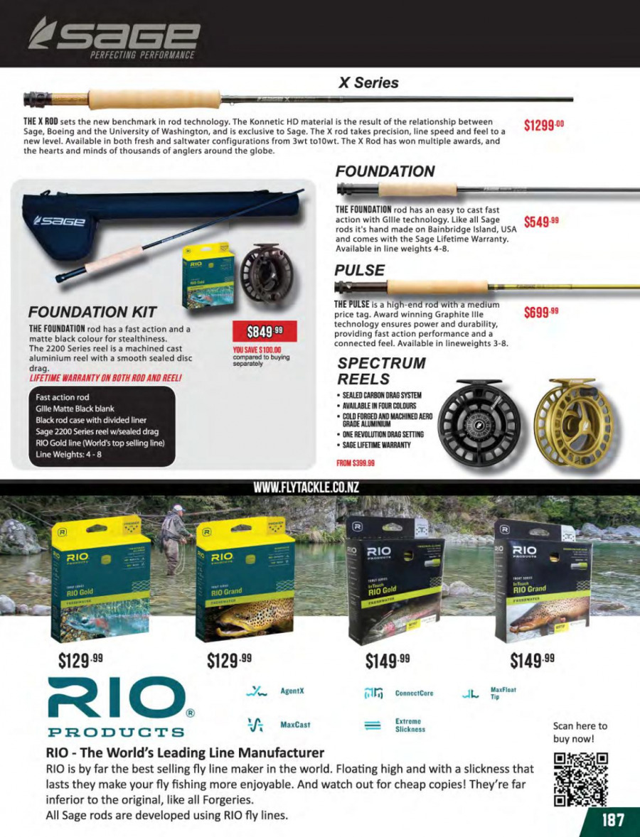 Hunting & Fishing mailer - 01.03.2018 - 31.08.2018 - Sales products - reel, Spectrum. Page 187.