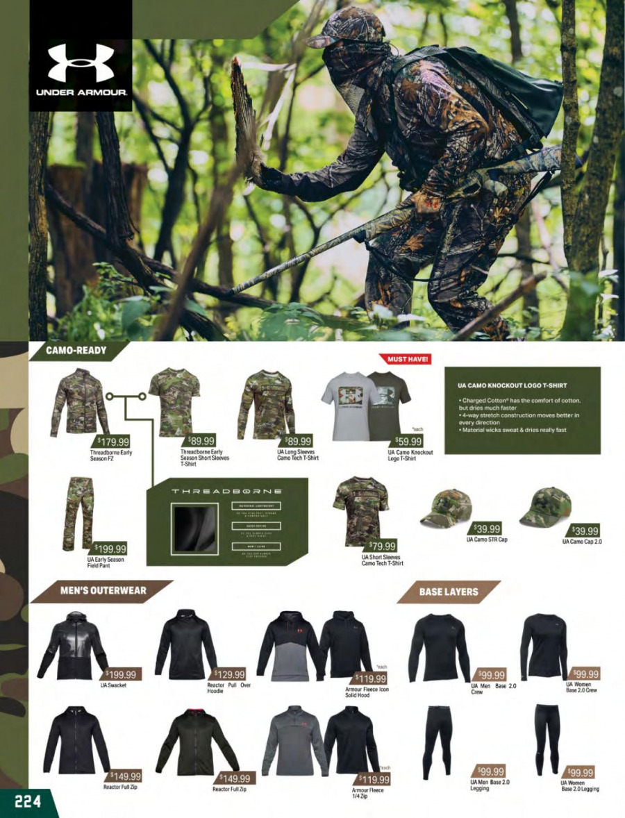 Hunting & Fishing mailer  - 01.03.2018 - 31.08.2018. Page 224.