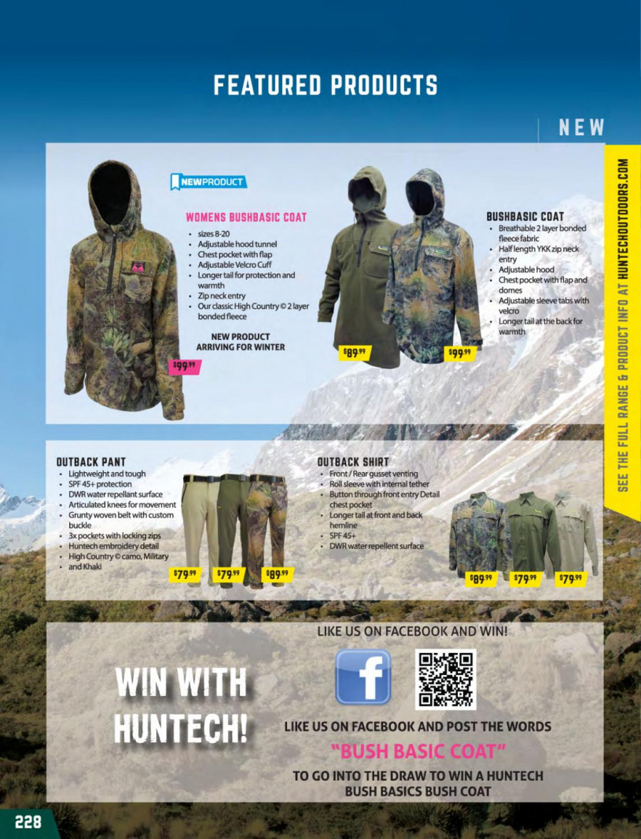 Hunting & Fishing mailer  - 01.03.2018 - 31.08.2018. Page 228.