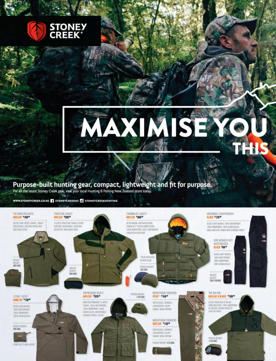Hunting & Fishing mailer - 01.03.2018 - 31.08.2018 - Sales products - Lack. Page 232.