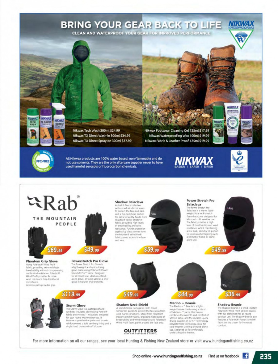 Hunting & Fishing mailer  - 01.03.2018 - 31.08.2018. Page 235.