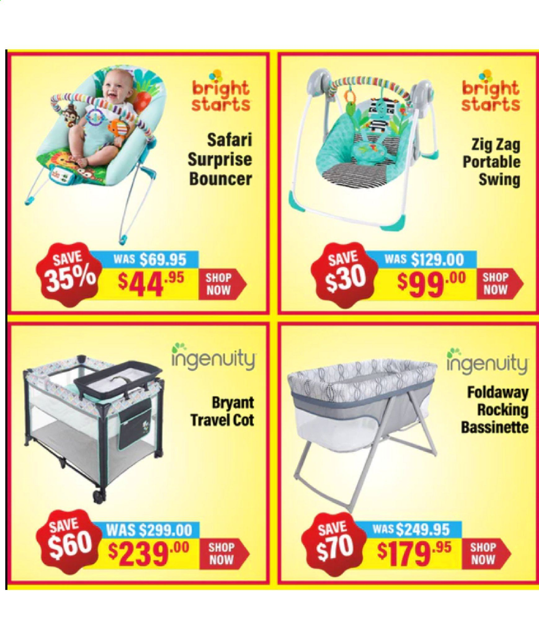 The Baby Factory mailer - 02.07.2019 - 23.07.2019 - Sales products - Ingenuity. Page 3.