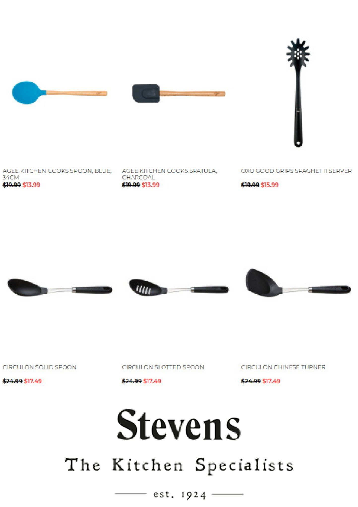 Stevens mailer - 17.03.2018 - 16.05.2018 - Sales products - spatula, spoon, charcoal. Page 5.