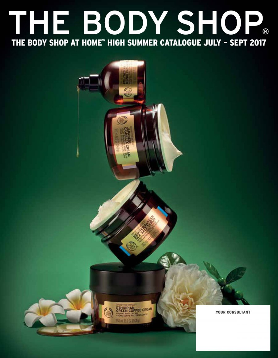 The Body Shop offer  - 1.7.2017 - 30.9.2017. Page 1.