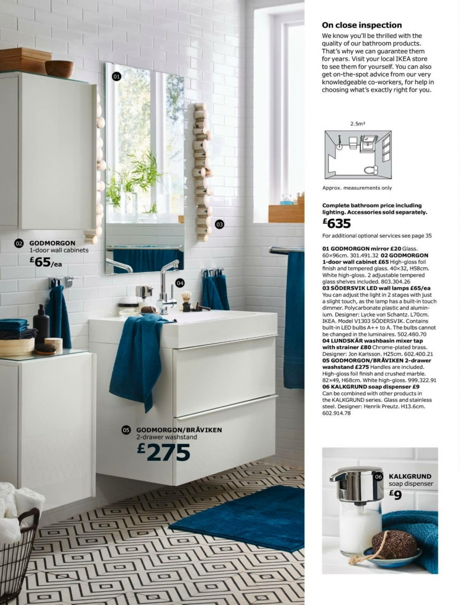 IKEA offer  - 1.9.2017 - 15.7.2018. Page 6.