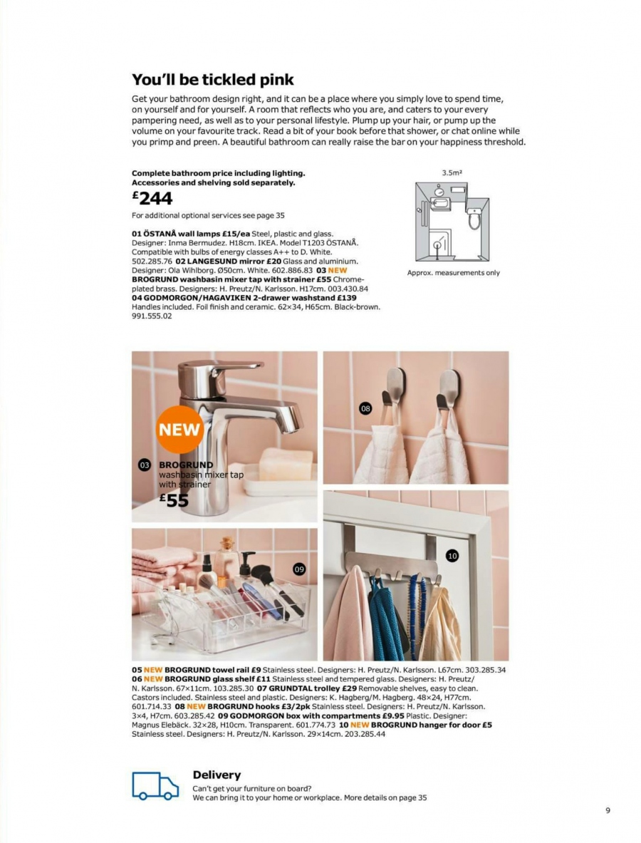 IKEA offer  - 1.9.2017 - 15.7.2018. Page 9.
