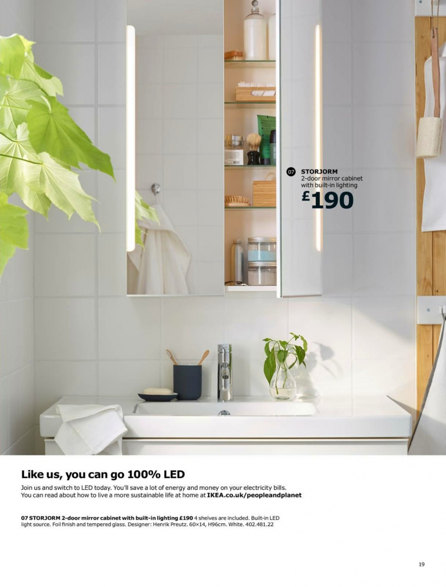 IKEA offer  - 1.9.2017 - 15.7.2018. Page 19.