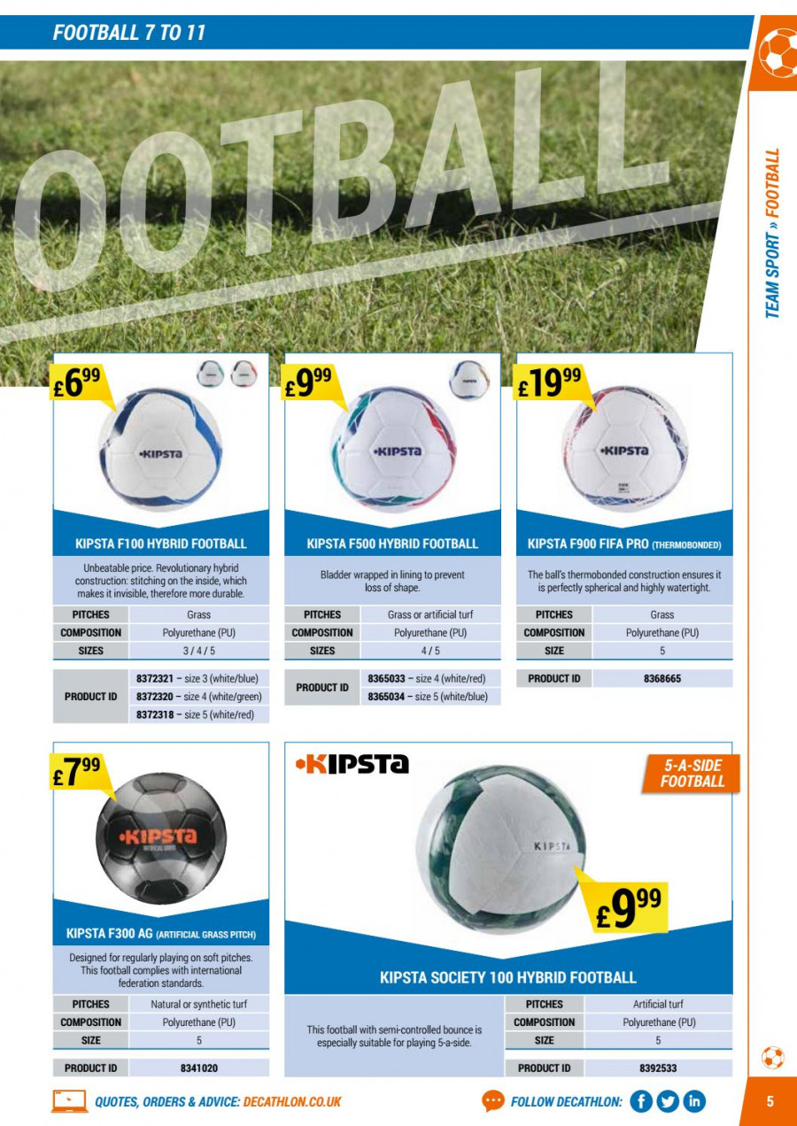 Decathlon offer  - 1.9.2017 - 30.6.2018. Page 5.