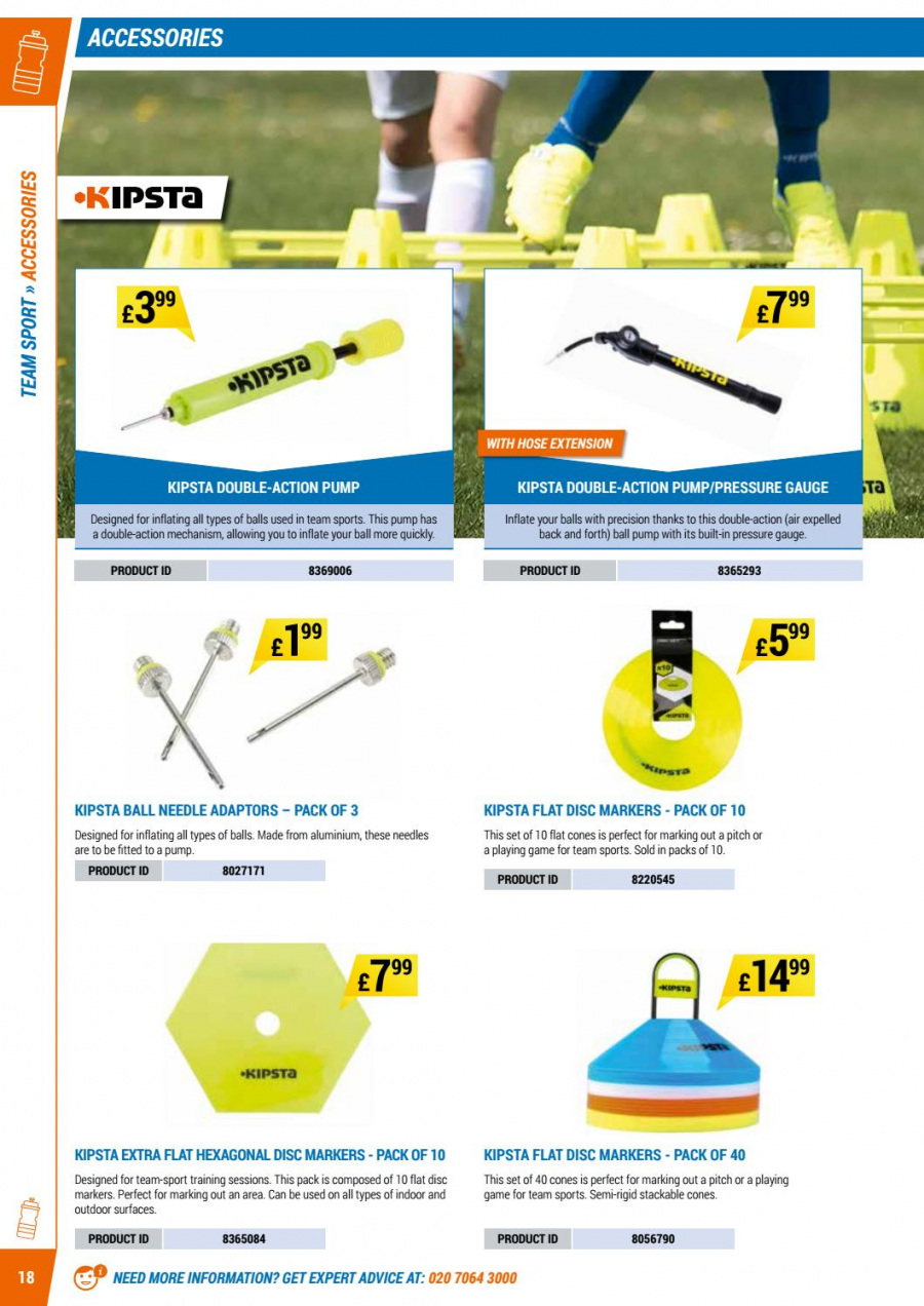 Decathlon offer  - 1.9.2017 - 30.6.2018. Page 18.