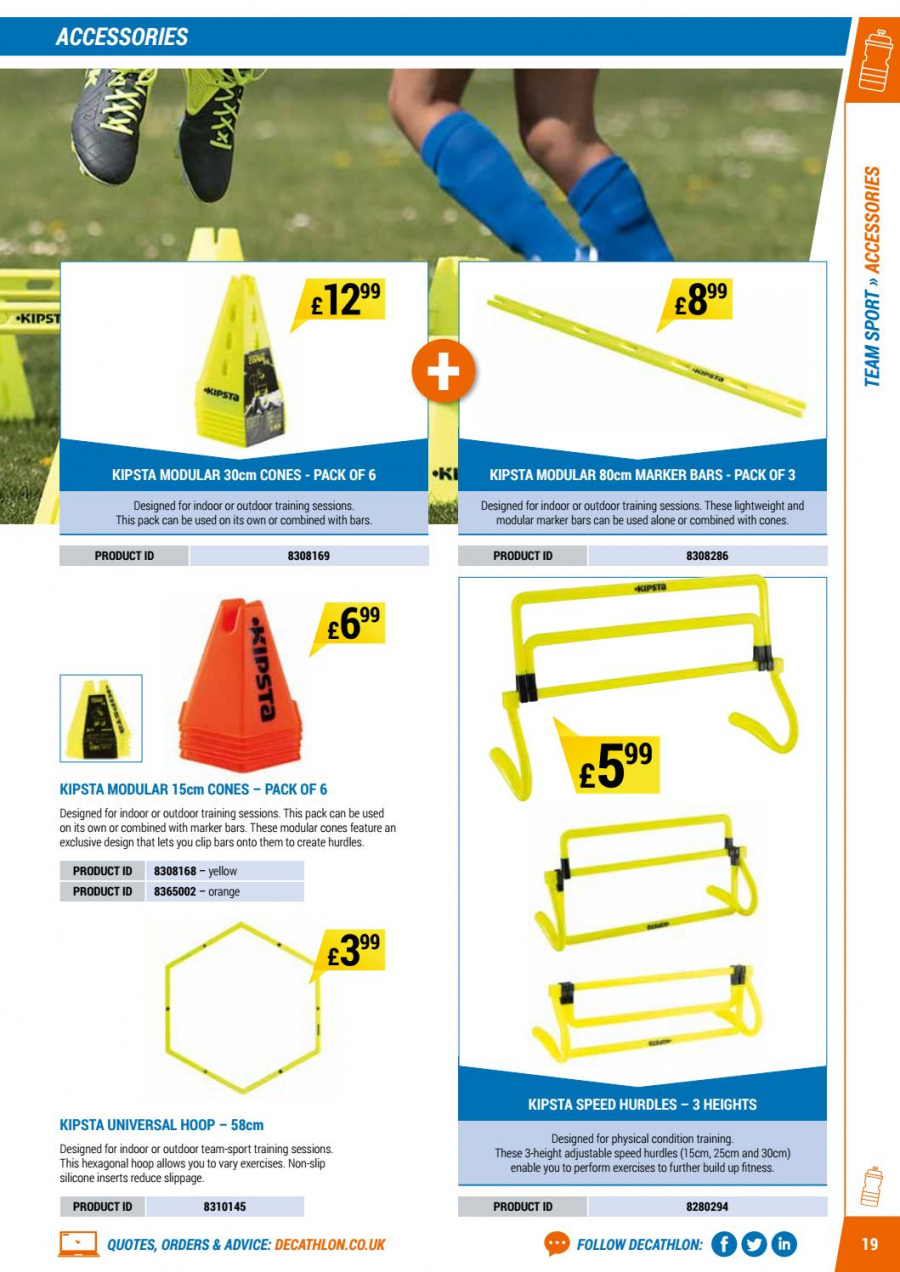 Decathlon offer  - 1.9.2017 - 30.6.2018. Page 19.
