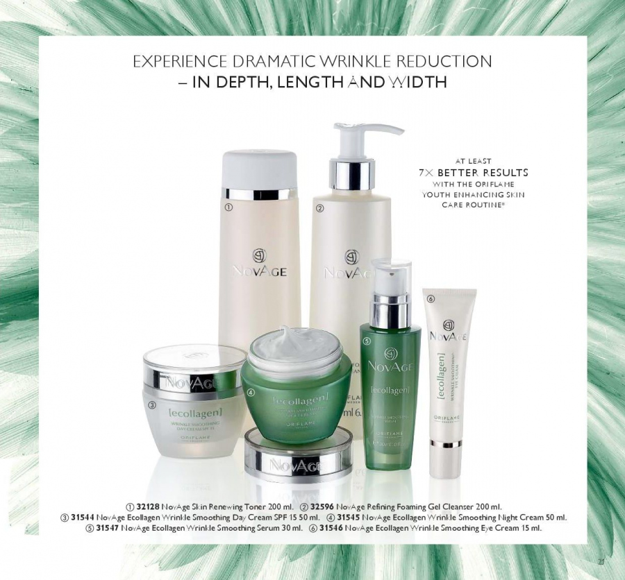 Oriflame offer  - 19.1.2018 - 1.1.2019. Page 21.