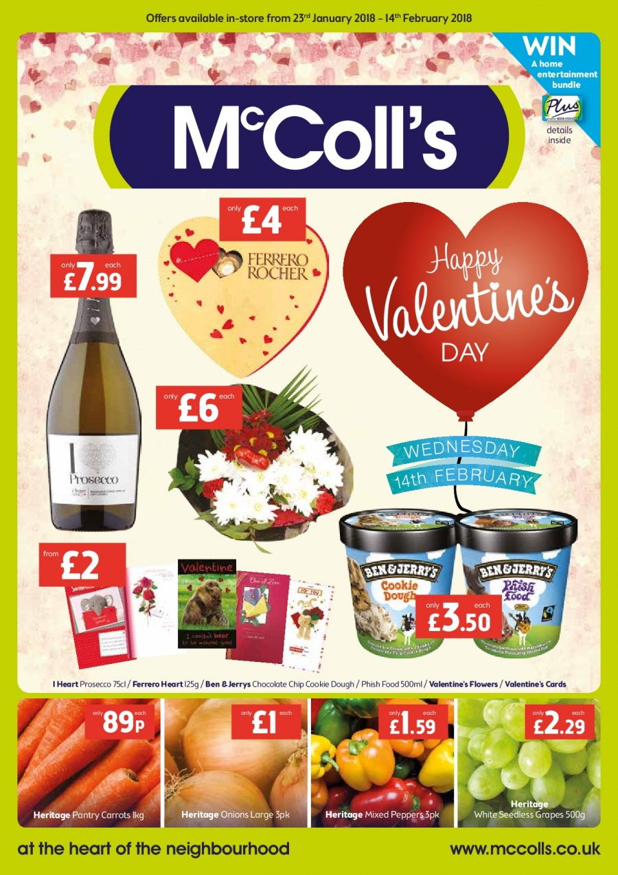 McColl's offer  - 23.1.2018 - 14.2.2018. Page 1.