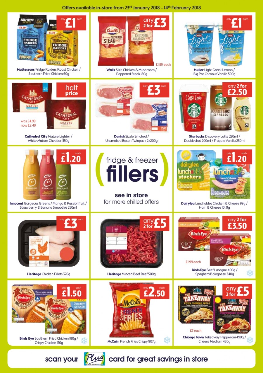 McColl's offer  - 23.1.2018 - 14.2.2018. Page 3.
