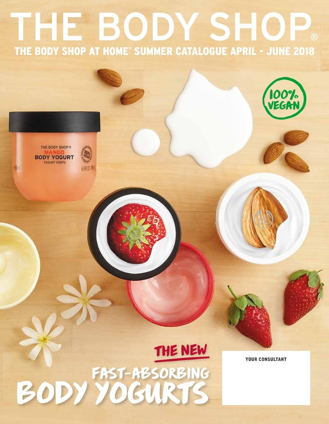 Current flyer The Body Shop