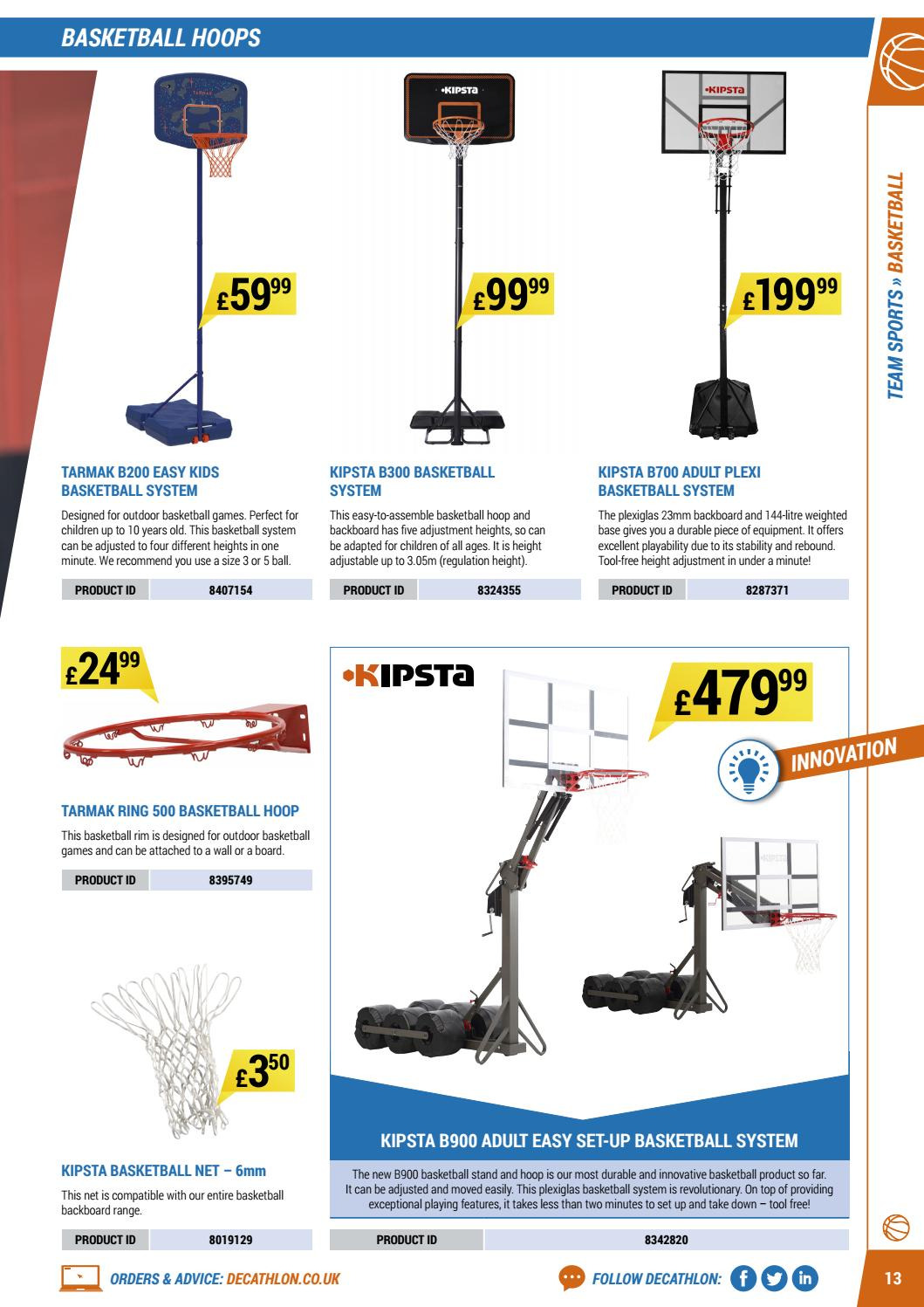 Decathlon offer  - 16.4.2018 - 30.9.2018. Page 13.
