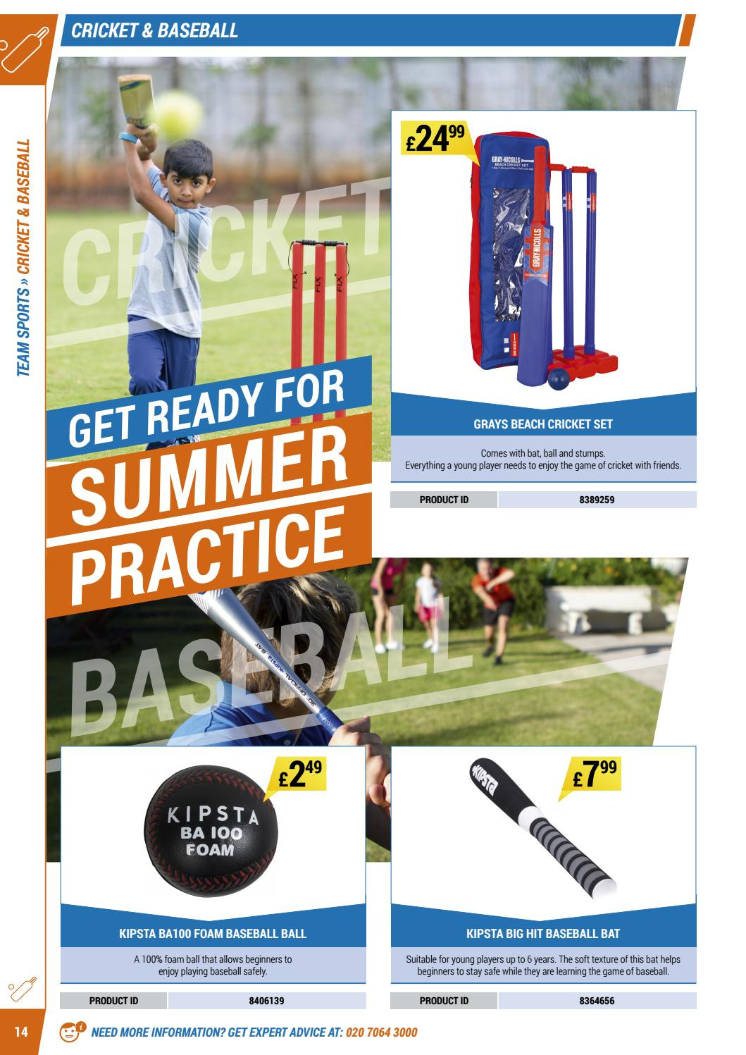 Decathlon offer  - 16.4.2018 - 30.9.2018 - Sales products - foam, safe, game, player. Page 14.