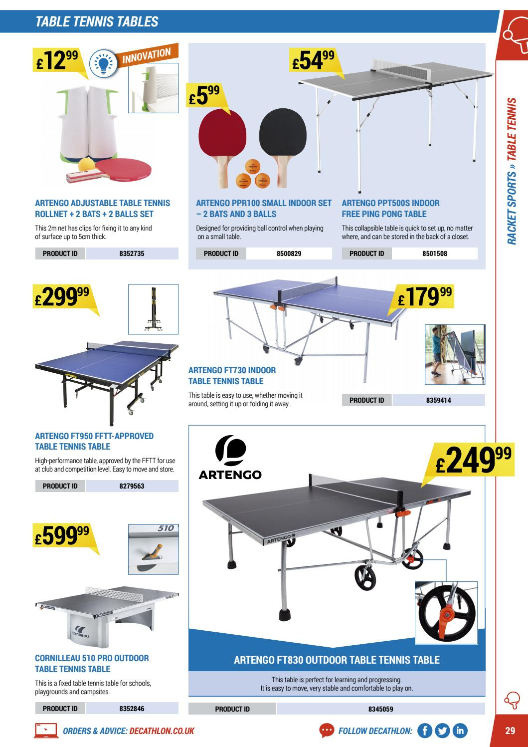 Decathlon offer  - 16.4.2018 - 30.9.2018. Page 29.