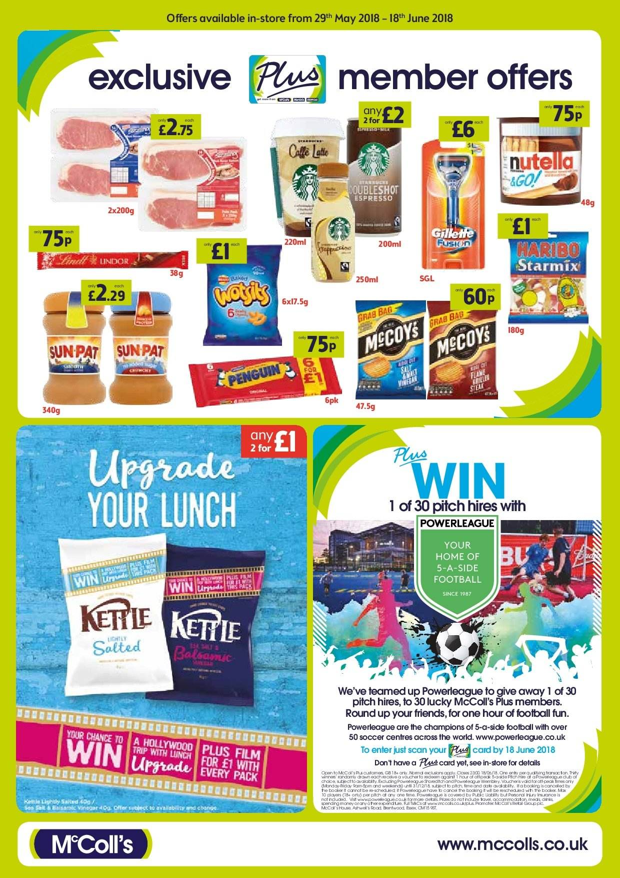 McColl's offer  - 29.5.2018 - 18.6.2018. Page 4.