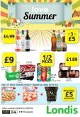 Londis offer  - 4.6.2018 - 7.7.2018.