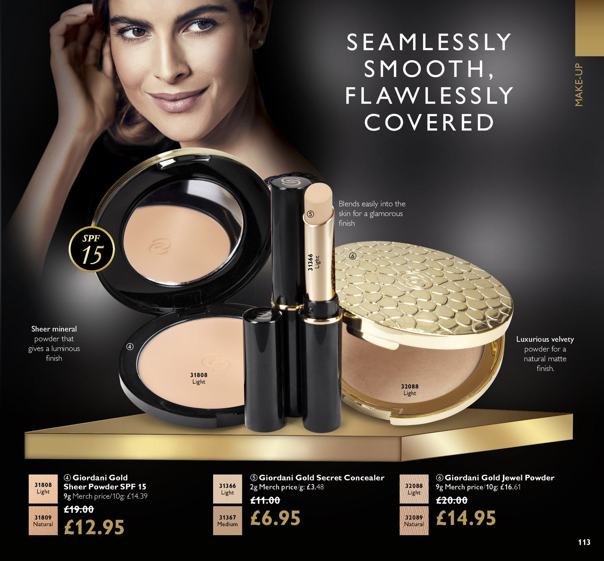 Oriflame offer  - 15.6.2018 - 5.7.2018. Page 113.