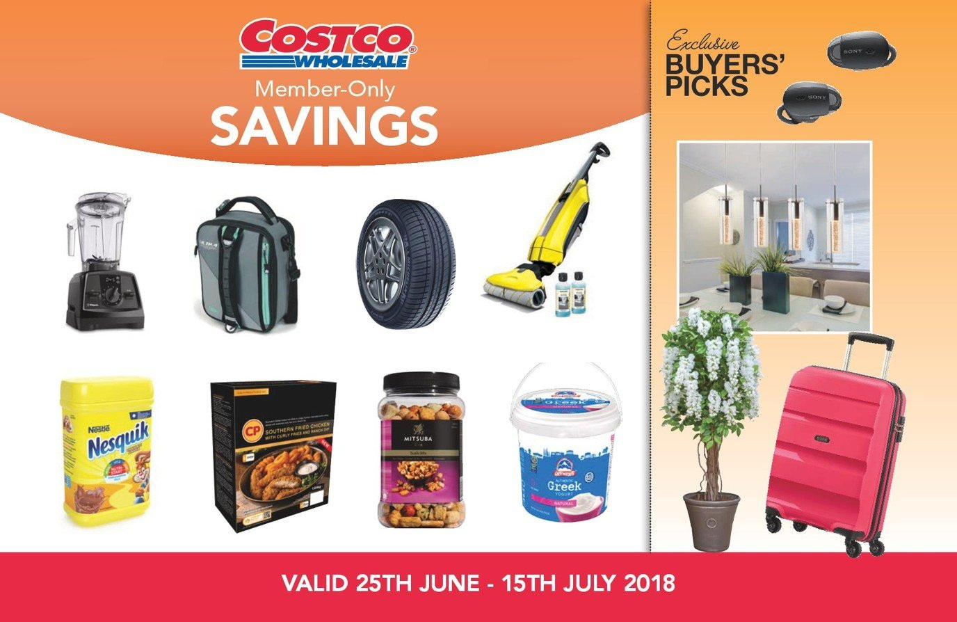 Costco offer  - 25.6.2018 - 15.7.2018. Page 1.