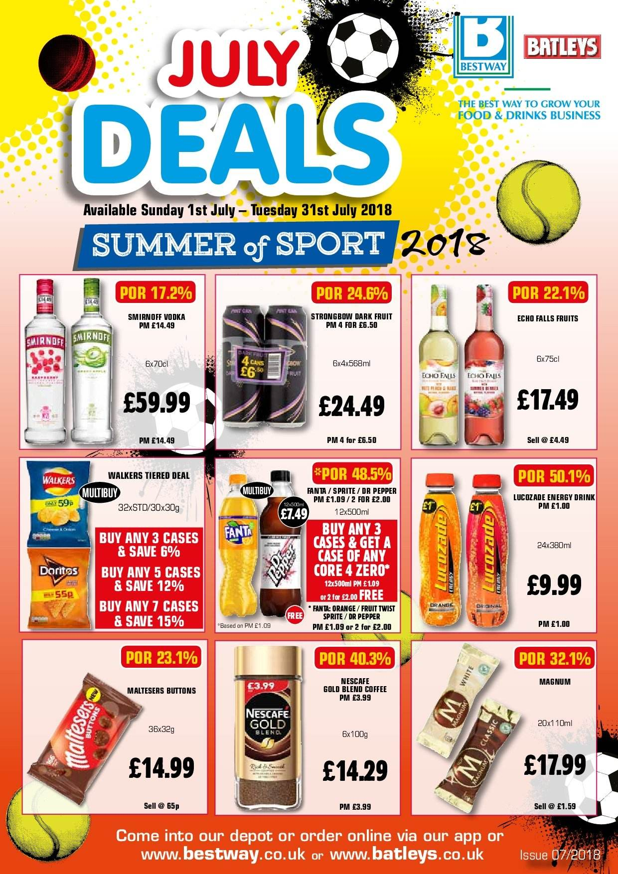Bestway offer  - 1.7.2018 - 31.7.2018. Page 1.