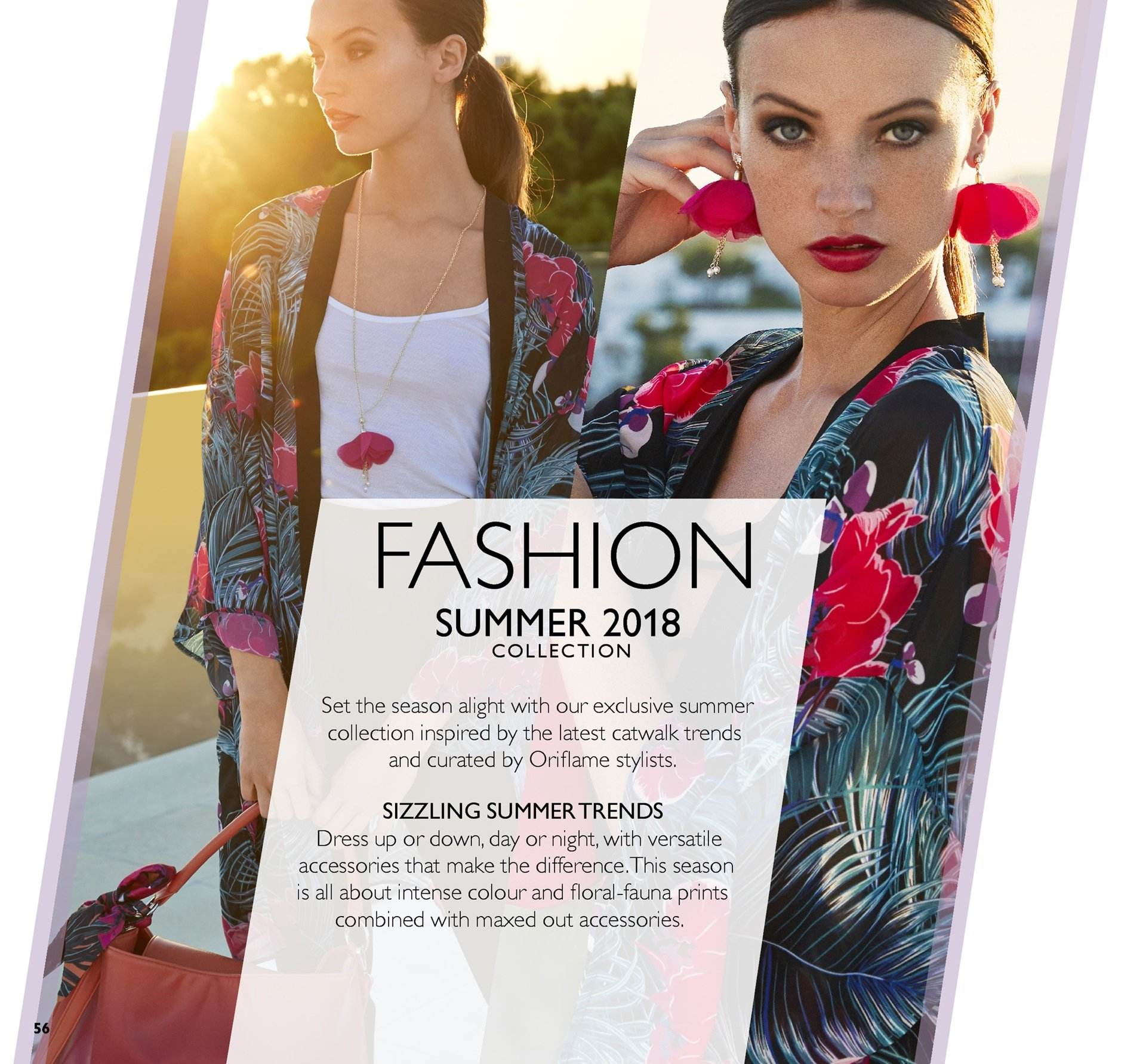 Oriflame offer  - 6.7.2018 - 26.7.2018. Page 56.