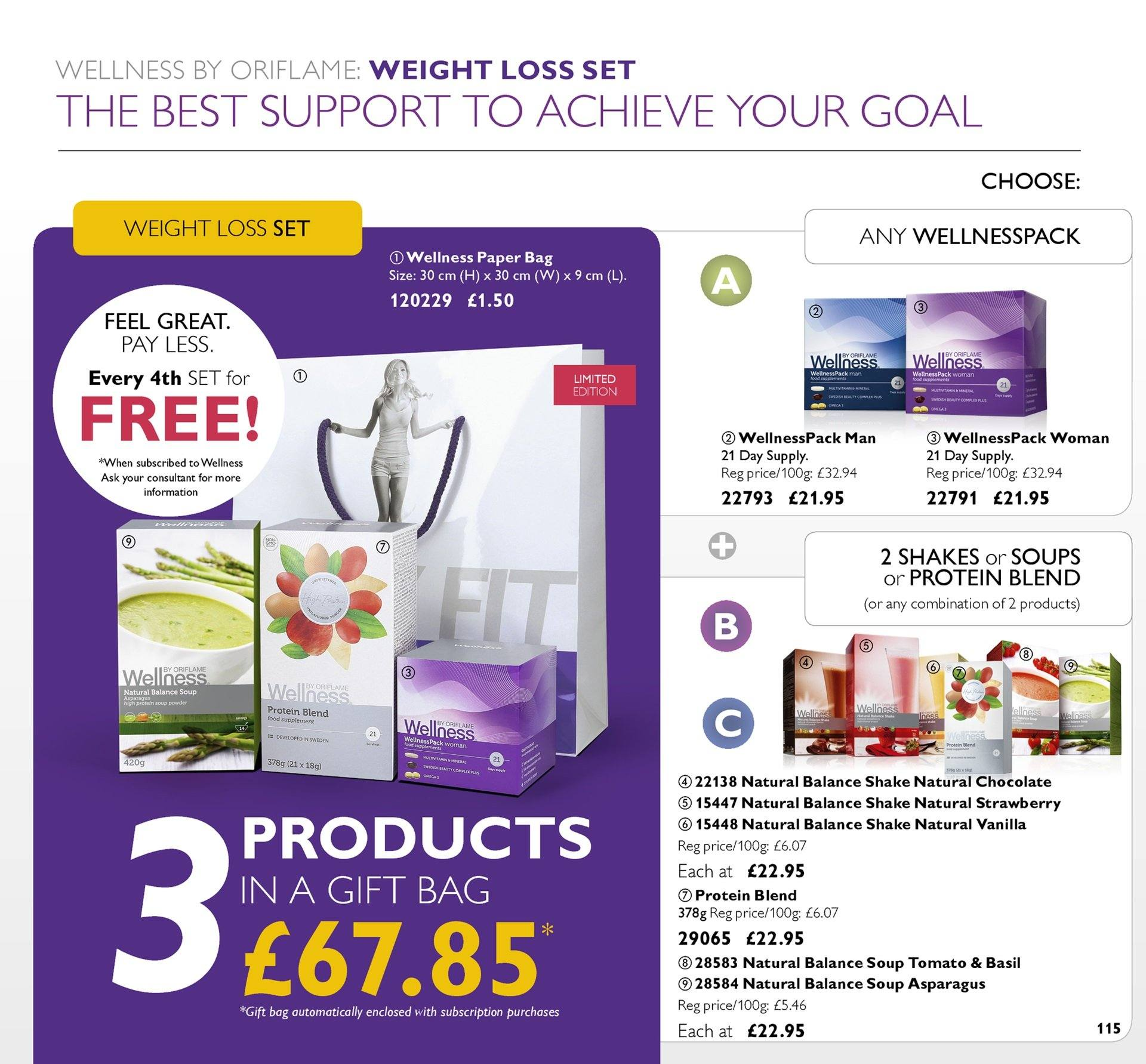 Oriflame offer  - 6.7.2018 - 26.7.2018. Page 115.