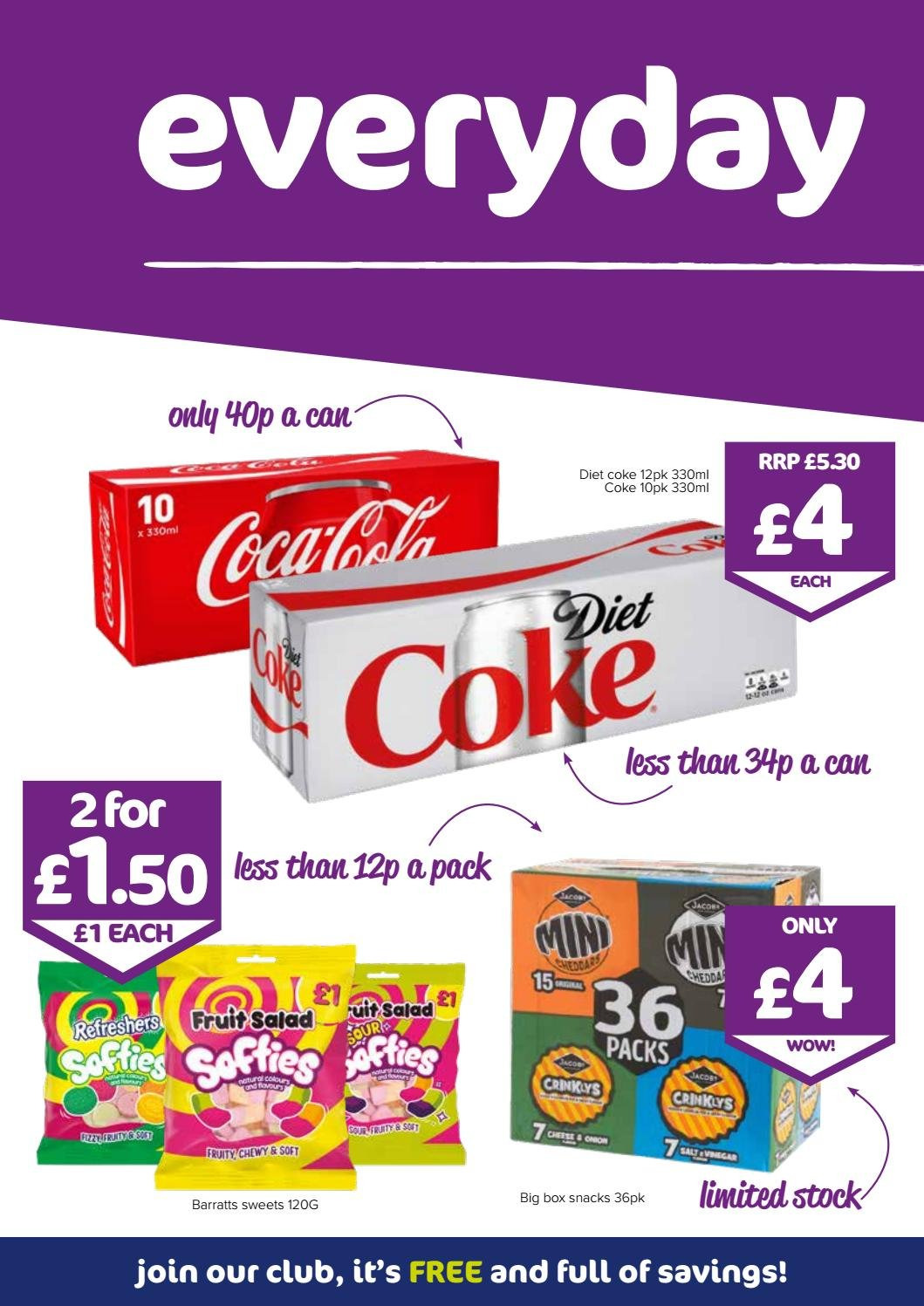 The Original Factory Shop offer  - 26.7.2018 - 8.8.2018 - Sales products - coca-cola, coca-cola light. Page 6.