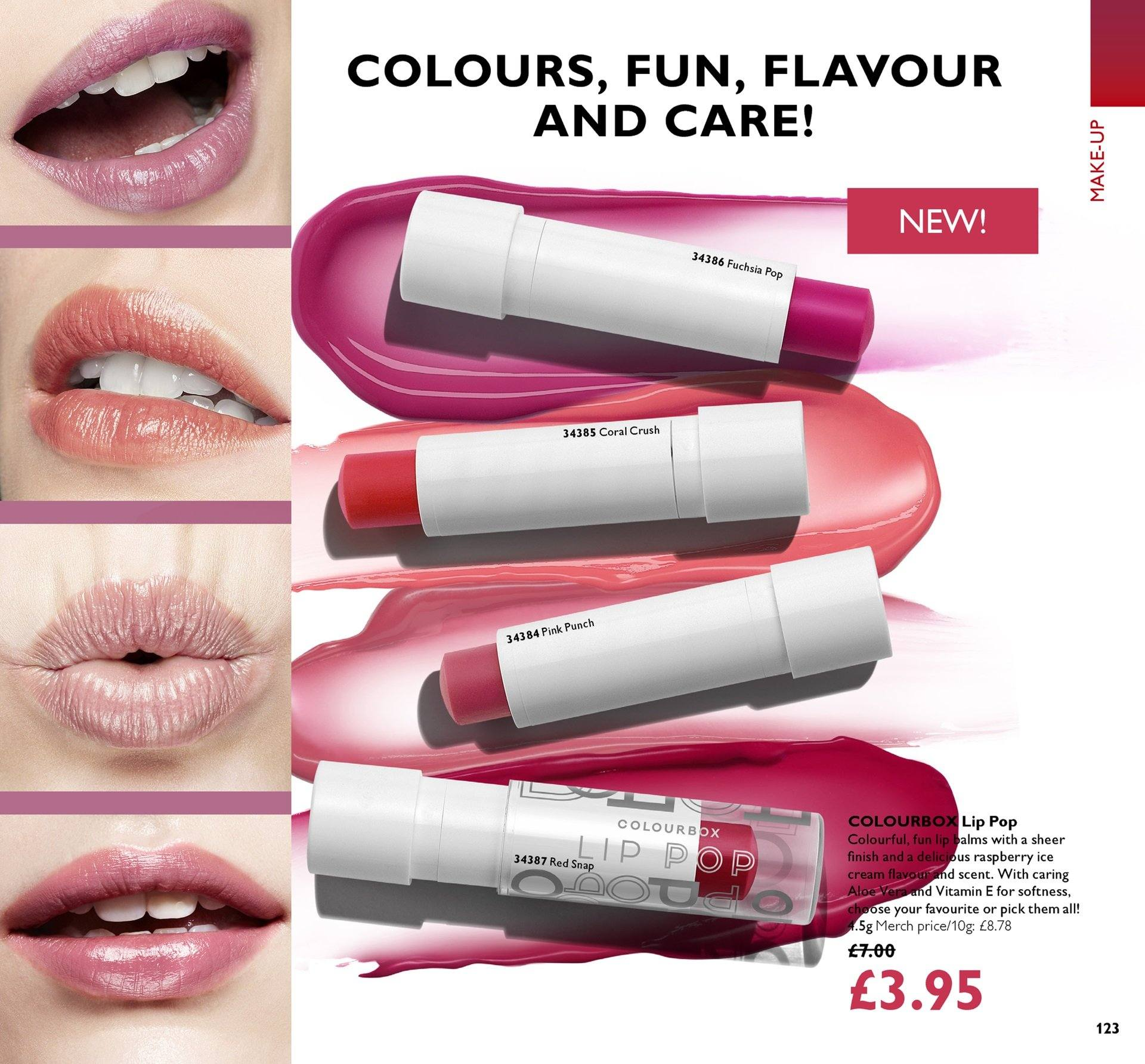Oriflame offer  - 27.7.2018 - 16.8.2018. Page 123.