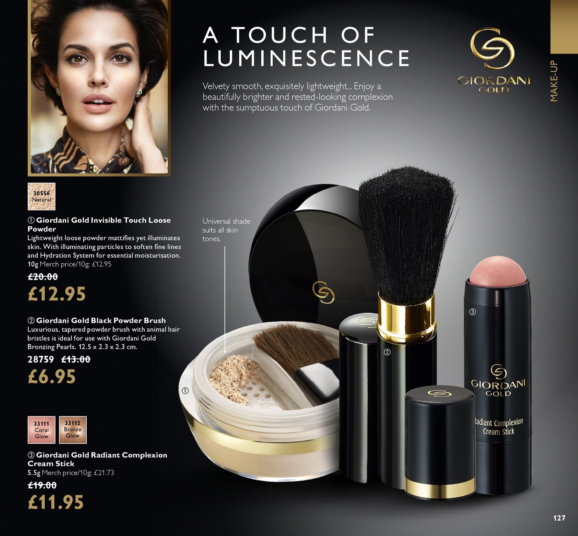 Oriflame offer  - 27.7.2018 - 16.8.2018. Page 127.