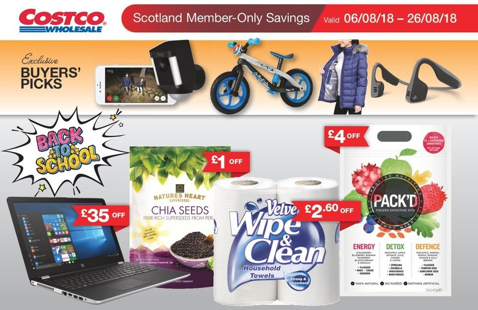 Current flyer Costco