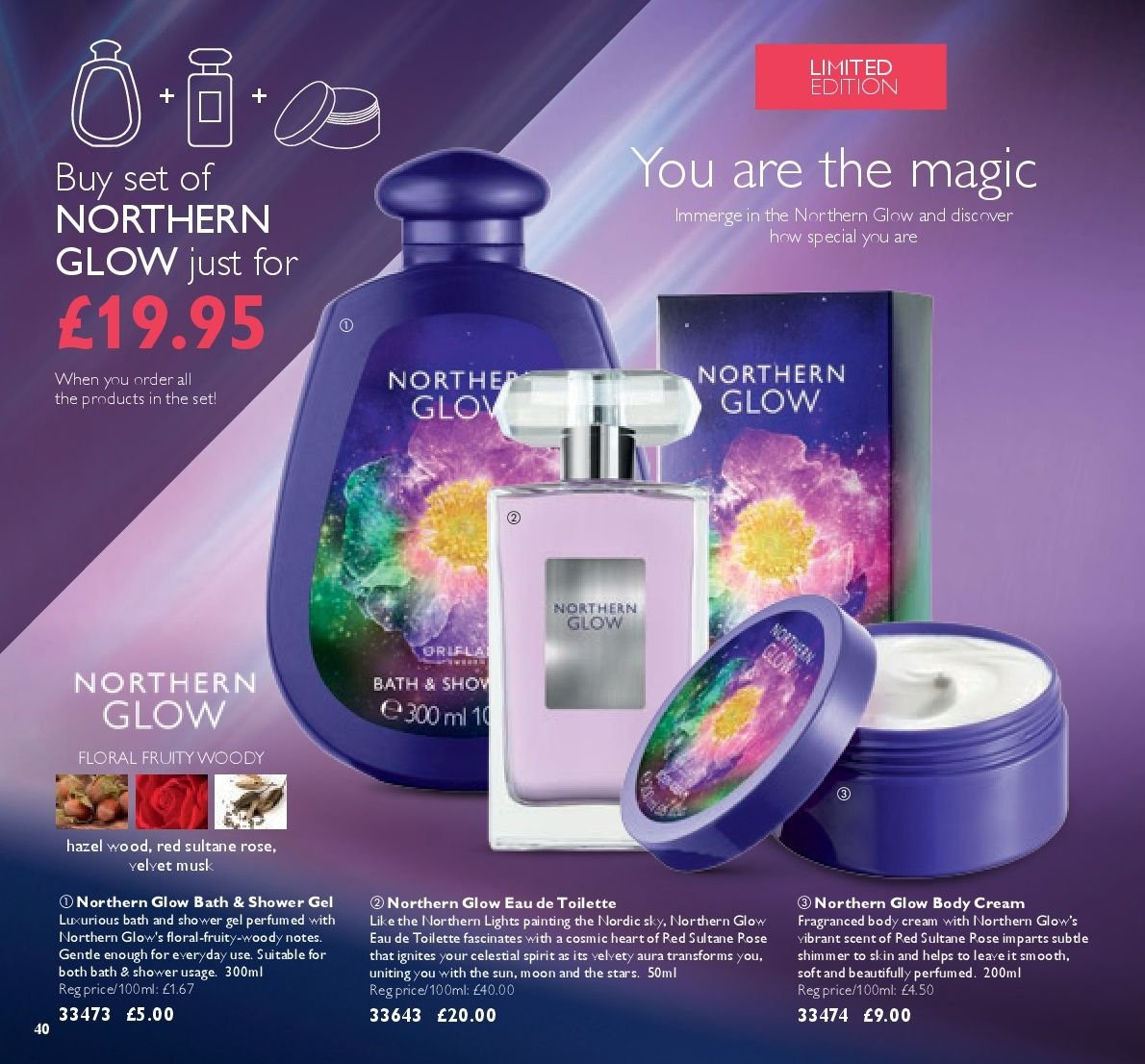 Oriflame offer  - 17.8.2018 - 6.9.2018. Page 40.
