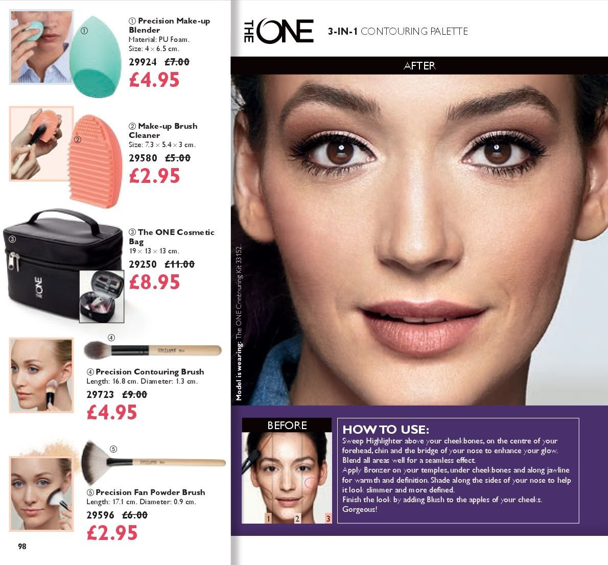 Oriflame offer  - 17.8.2018 - 6.9.2018. Page 98.