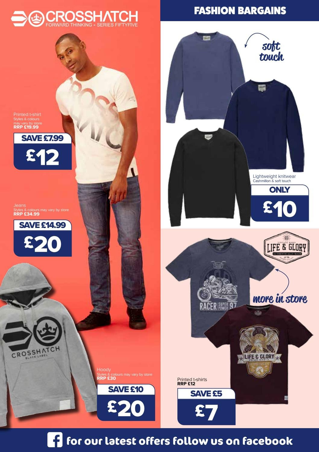 The Original Factory Shop offer  - 30.8.2018 - 12.9.2018 - Sales products - shirt, t-shirt, jeans. Page 10.