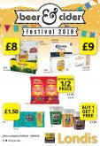 Londis offer  - 3.9.2018 - 29.9.2018.