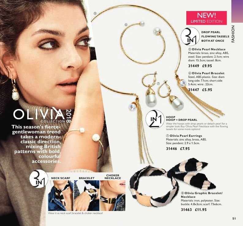 Oriflame offer  - 7.9.2018 - 1.10.2018. Page 51.
