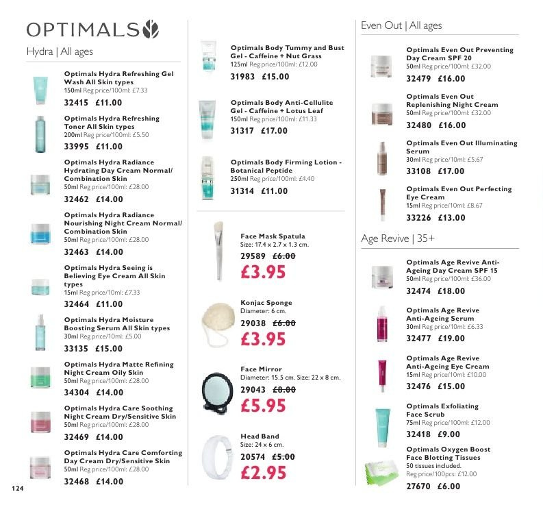 Oriflame offer  - 7.9.2018 - 1.10.2018. Page 124.