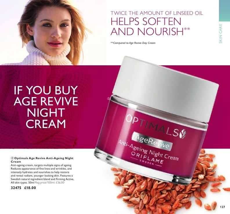 Oriflame offer  - 7.9.2018 - 1.10.2018. Page 127.